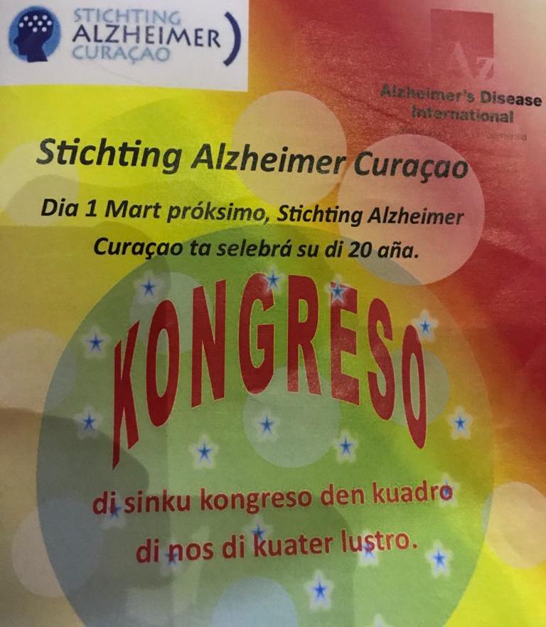 St. Alzheimer Curaçao Congres Curaçao 2020